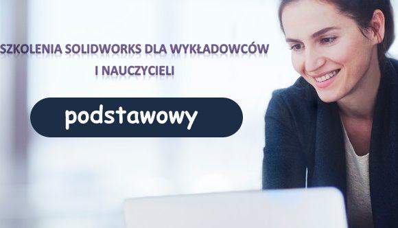 Podstawowy kurs SOLIDWORKS dla wykładowców i nauczycieli